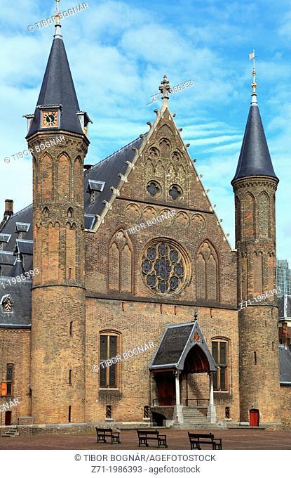 Netherlands, The Hague, Binnenhof, Ridderzaal,