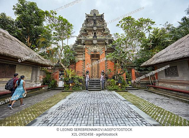 Puri Saren Agung, also known as Ubud Palace. Ubud, Bali, Indonesia