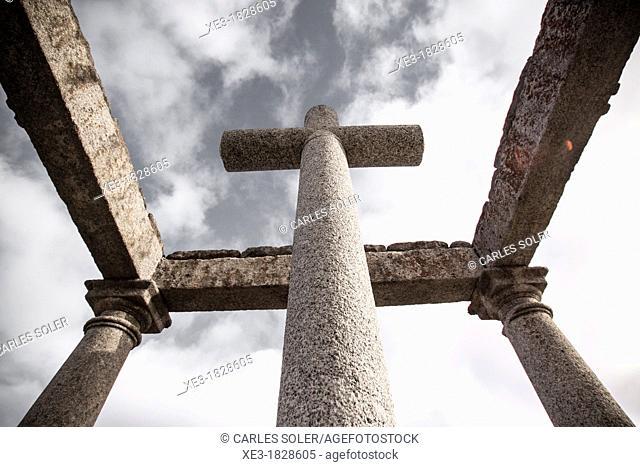 El Humilladero de los Cuatro Postes, Ávila, Spain