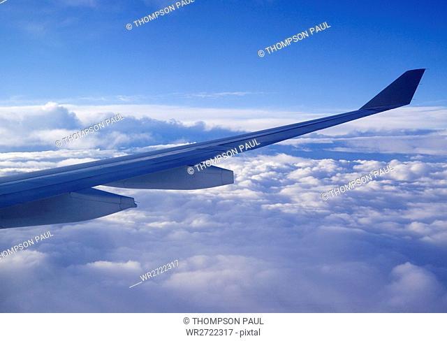 90900314, View from an aeroplane window, aeroplane