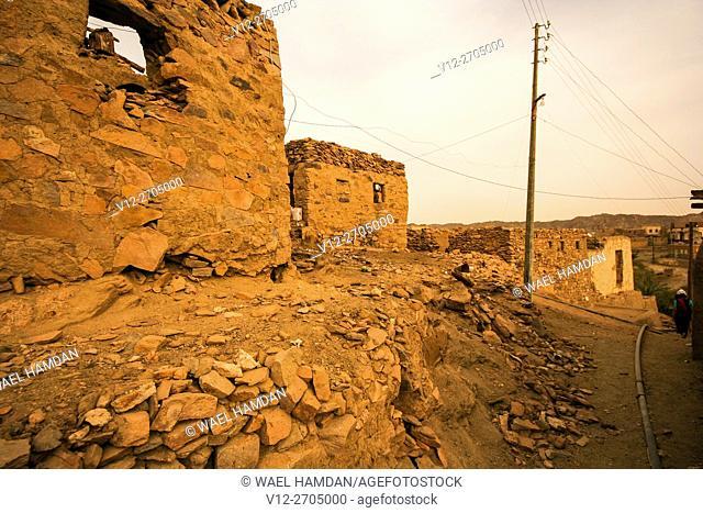 Hesa island, nubia, Egypt