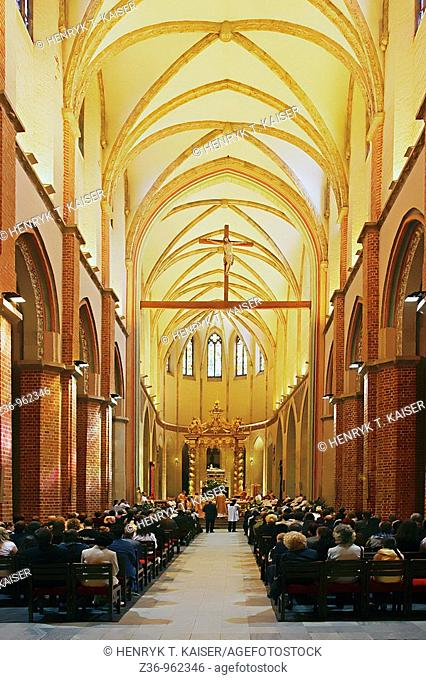 Canonization of young priests, Gniezno Cathedral, Gniezno, Poland