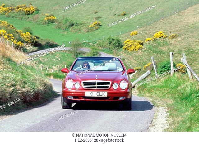 1999 Mercedes Benz CLK 320 cabriolet. Artist: Unknown