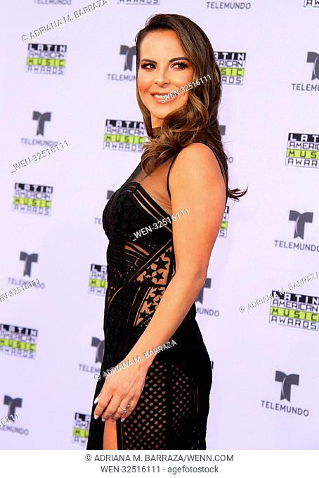 Latin American Music Awards 2017 - Arrivals held at the Dolby Theatre in Hollywood, California. Featuring: Kate Del Castillo Where: Los Angeles, California