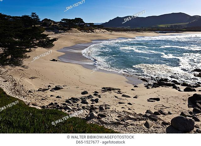 USA, California, Central Coast, Carmel-By-The-Sea, Carmel Beach