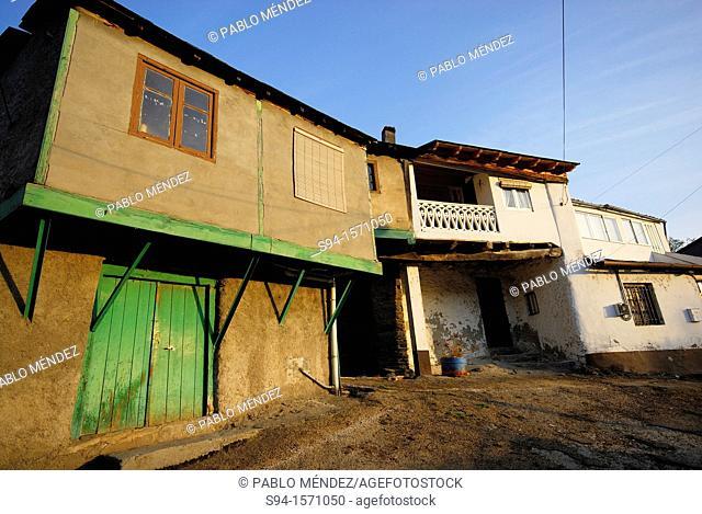 Rural houses in Valencia do Sil, Orense, Spain