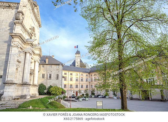 Le Grand Carillon in Le Château des Ducs de Savoie, Chambery, Savoie, Rhône-Alpes, France