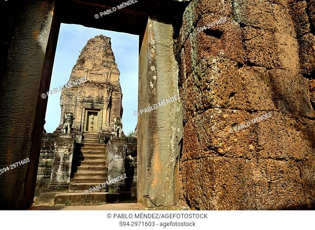Temple of East Mebon, Angkor complex, Siem Reap, Cambodia
