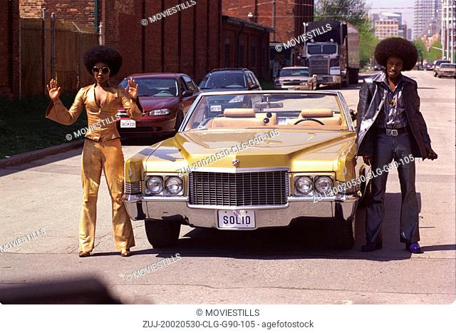 May 30, 2002; Los Angeles, CA, USA; Comedian EDDIE GRIFFIN stars as Undercover Brother and AUJANUE ELLIS as Sistah Girl in the Universal Pictures comedy
