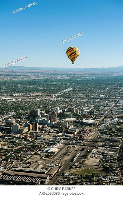 Hot-Air Ballooning, Albuquerque, New Mexico, Usa