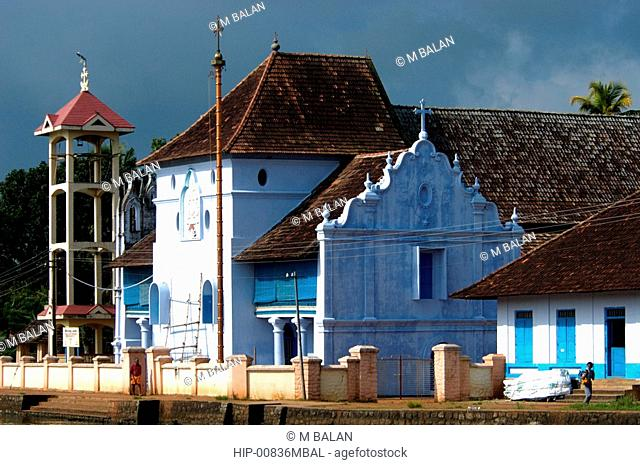 CHRISTIAN CHURCH, CHAMPAKULAM, ALAPPUZHA