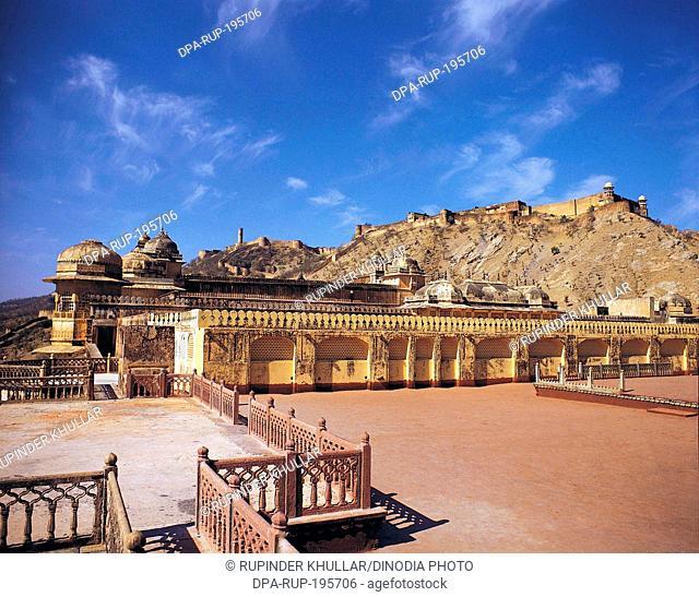 Jaigarh fort, jaipur, rajasthan, india, asia