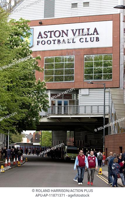 2017 Skybet Championship football Aston Villa v Birmingham Apr 23rd. April 23rd 2017, Villa Park, Birmingham, Midlands, England