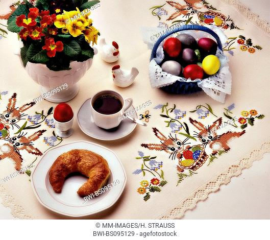 breakfast at Easter, Germany