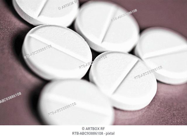 Close-up of pills
