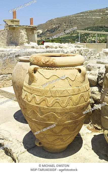 Knossos, Crete, Greek Islands