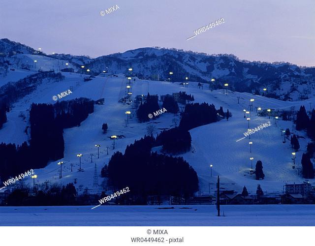 Ishiuchi Maruyama Ski Resort, Minamiuonuma, Niigata, Japan