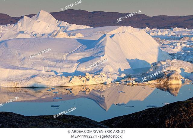 Icebergs - Kangia Icefjord - Greenland