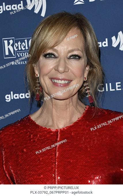 Allison Janney at the 30th Annual GLAAD Media Awards held at the Beverly Hilton Hotel in Beverly Hills, CA on Thursday, March 28, 2019