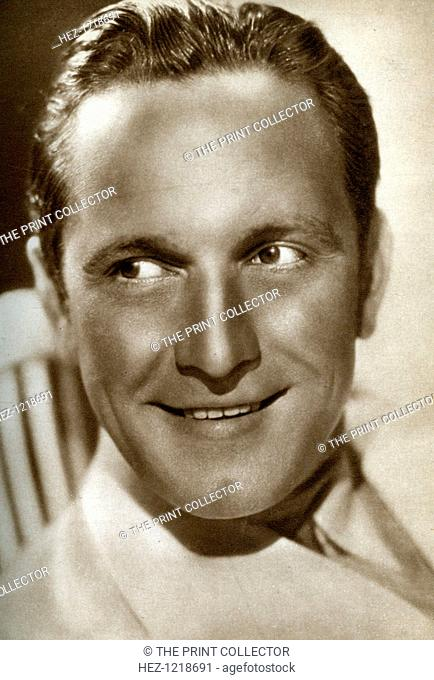 Fredric March, American actor, 1933. March (1897-1975) was a two-time Academy Award-winning American actor. He won the Best Actor Oscar for his performances in...