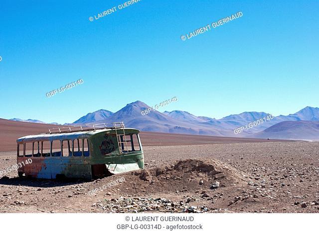 Border with Chile, Department of Potosi, Sud Lipez Province, La Paz, Bolívia