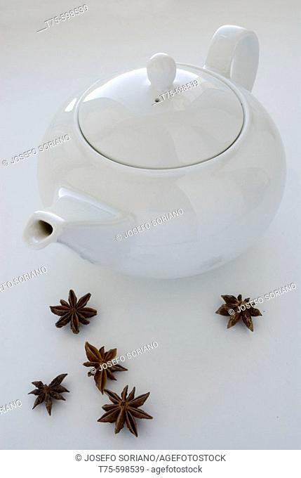 Kettle and star anise