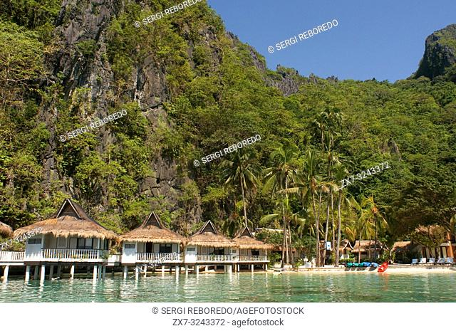 El nido resorts Miniloc island, Bacuit archipelago, Palawan, Philippines, Southeast Asia, Asia