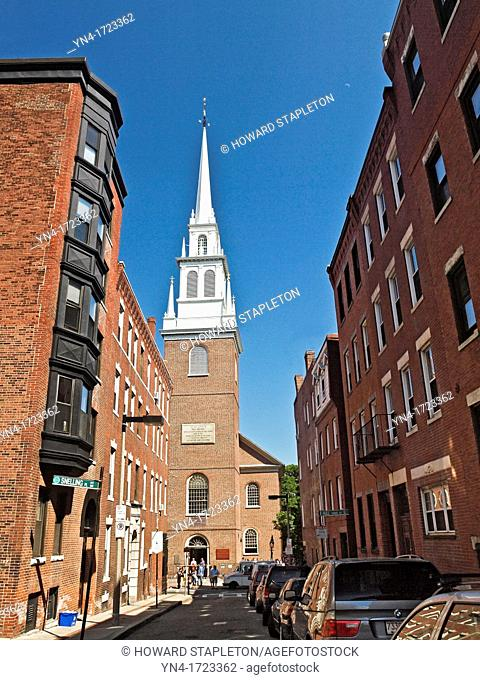 Old North Church was built in 1723, and is the oldest standing church building in Boston  It is an active Episcopal Church with a remarkable place in American...