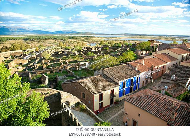 granadilla village from the castle