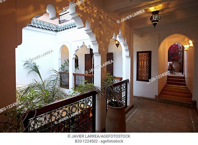 Riad Amin, Medina de Marrakech, Marruecos