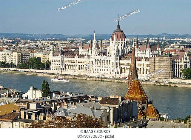 Hungarian parliament building budapest