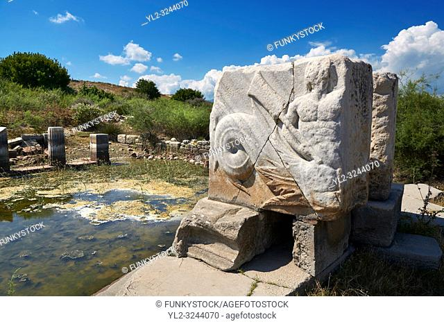 Roman Great Harbour Monument opened by the city of Miletus either in honour of the achievements of Pompeius in his war against the pirates (67 BC) or for the...