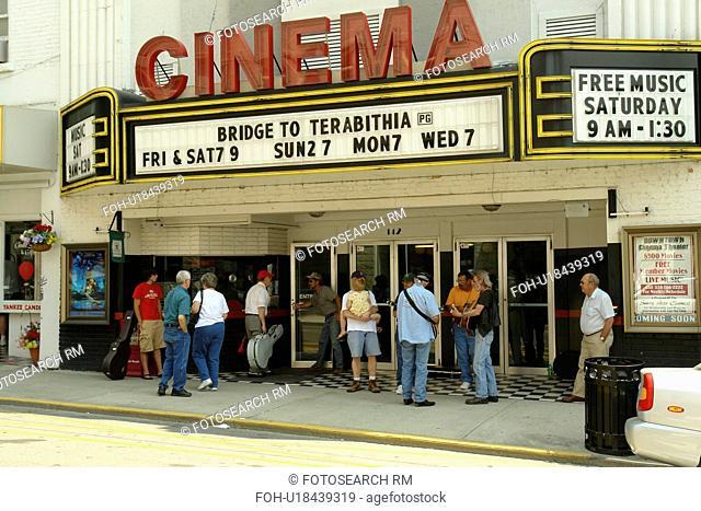 Mount Airy, NC, North Carolina, Downtown, Main Street, Cinema