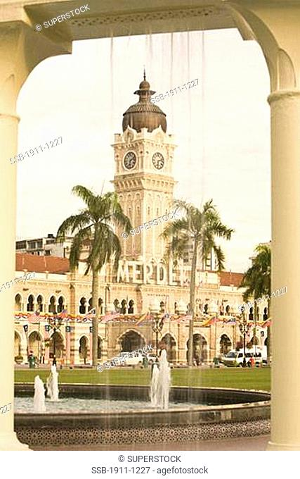 Merdeka or Independence Square captial city of Kuala Lumpur Malaysia Peninsula Malaysia SE Asia