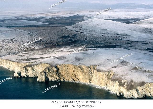 Bering sea coast. Alaska. USA