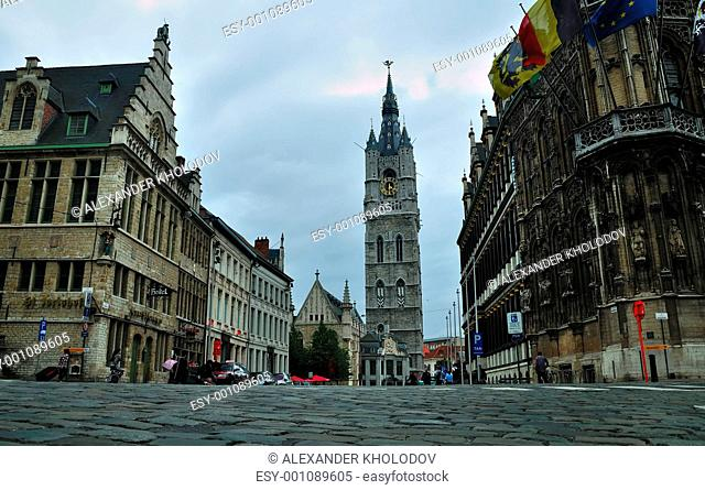 Historic houses in Ghent
