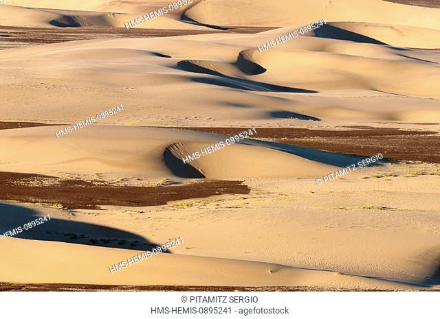 Namibia, Skeleton Coast National Park, Sand dunes