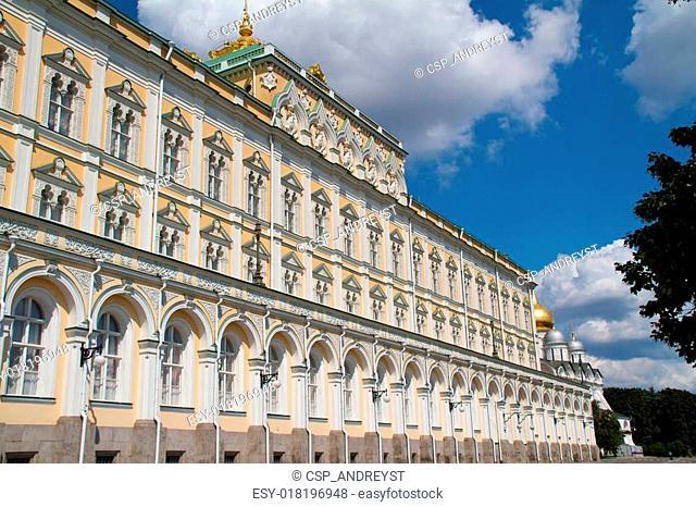 Moscow city, Russia. Kremlin