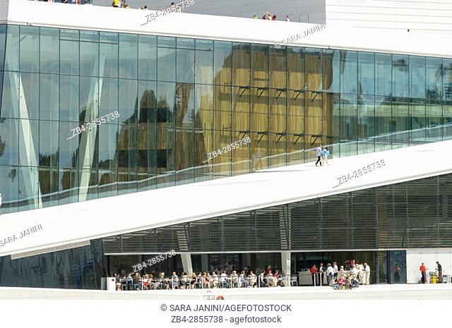Oslo Opera House by Snøhetta Architects, Oslo, Norway, Europe