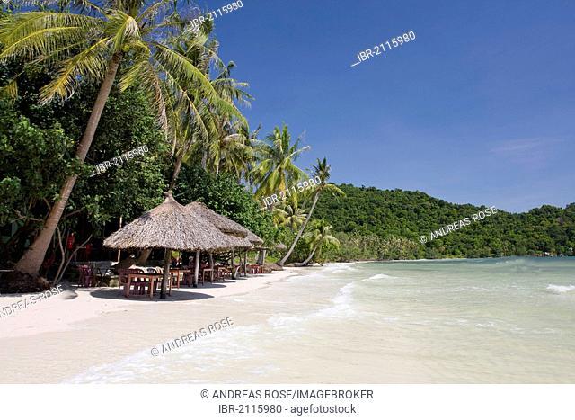 Bai Sao Beach, Pacific beach in the south of Phu Quoc Island, Vietnam, South East Asia, Asia