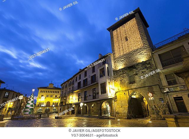 Town hall, Olite, Navarre, Spain