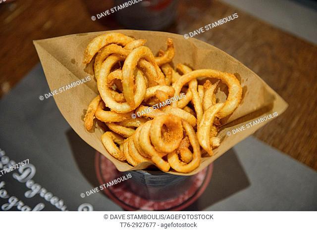 Onion rings, Bangkok, Thailand