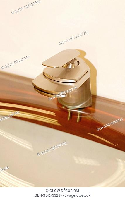 Close-up of a faucet