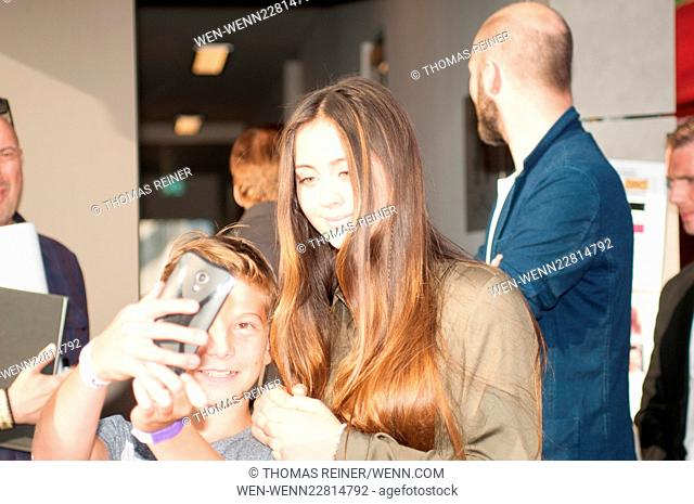 Jasmine Ying Thompson live at Stars for free Featuring: Guest, Jasmine Thompson Where: Berlin, Germany When: 30 Aug 2015 Credit: Thomas Reiner/WENN