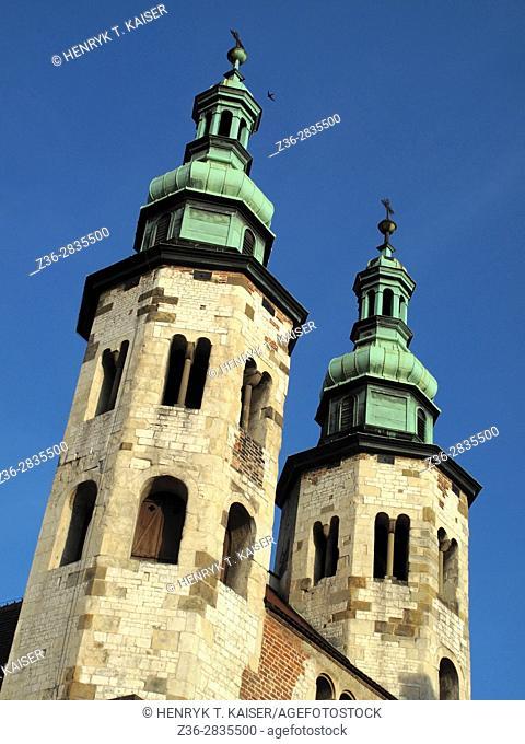 Poland, Krakow, St Andrew s church