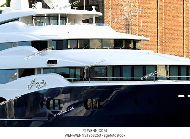 Billionaire Yacht Stock Photos And Images Age Fotostock