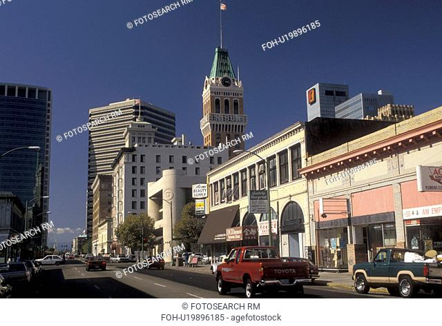 Oakland, California, Downtown Oakland in the state of California