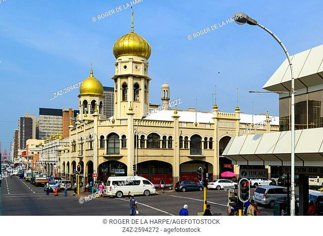 Juma Masjid Mosque (Juma Masjid, meaning Mosque of The Congregatio. Durban or eThekwini. KwaZulu Natal. South Africa