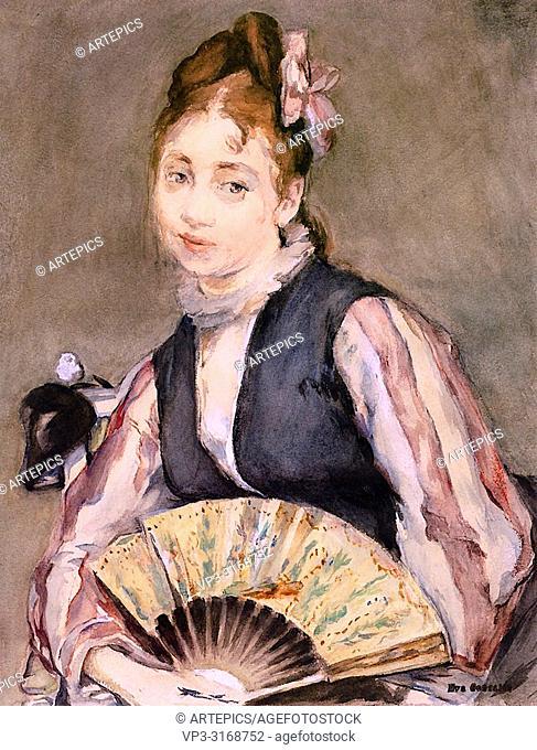 Gonzales Eva - Portrait of Jeanne Gonzales