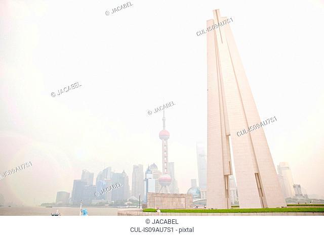 The Bund skyline, Shanghai, China